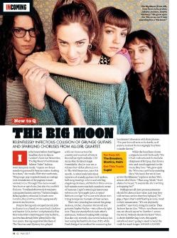 The Big Moon interview, Q Magazine
