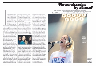 London Grammar feature, G2 Film and Music